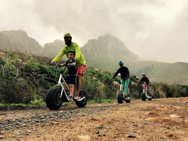 Stellenbosch Off Road Scooter Rides - Family Adventures