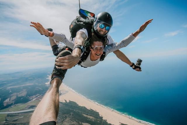 Skydiving Jeffreys Bay