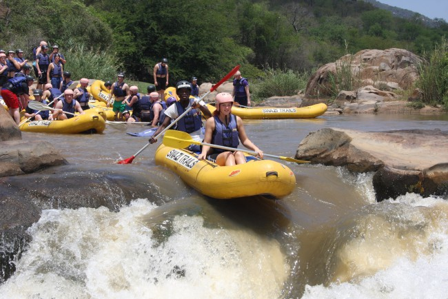 Swazi Trails - River Rafting