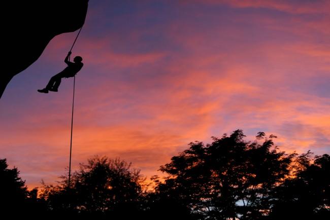 Swazi Trails - Abseiling