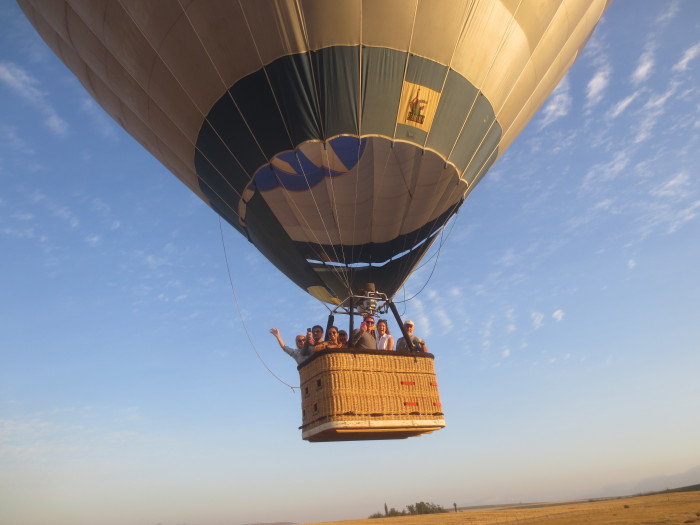 The Best Balloon Rides in South Africa - Wineland Ballooning near Cape Town