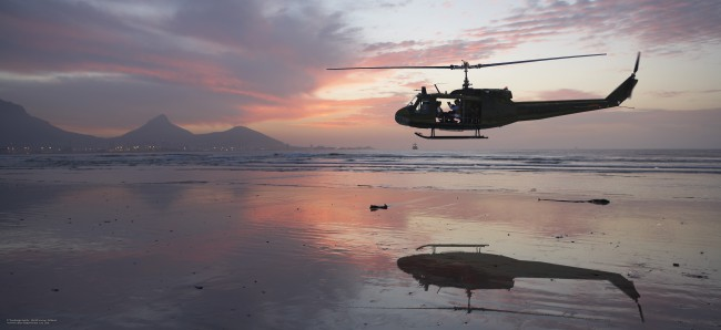 The Huey Helicopter Company
