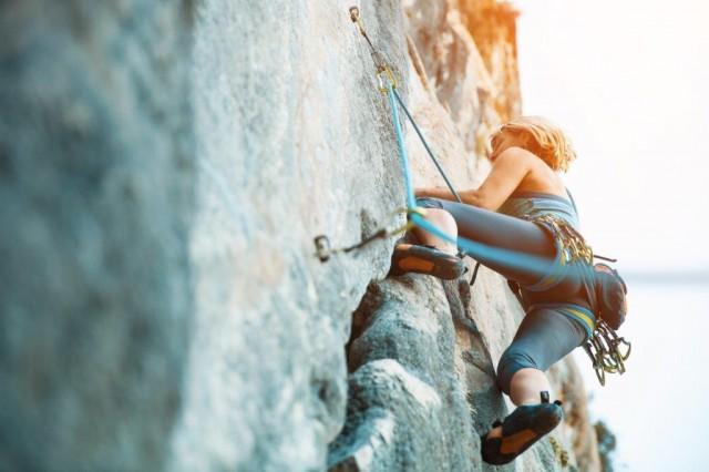 Venture Forth International - Rock Climbing