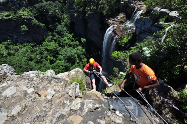 Wild Five Adventures - Abseiling