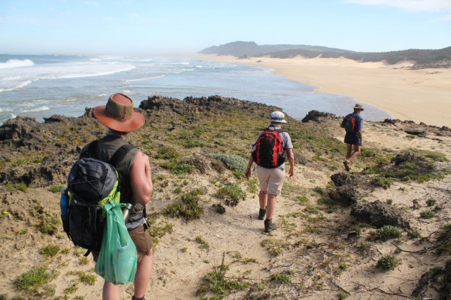 Shipwreck Hiking Trails - Guided Hiking