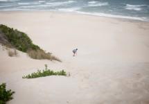 Wacky Wipeouts Sandboarding