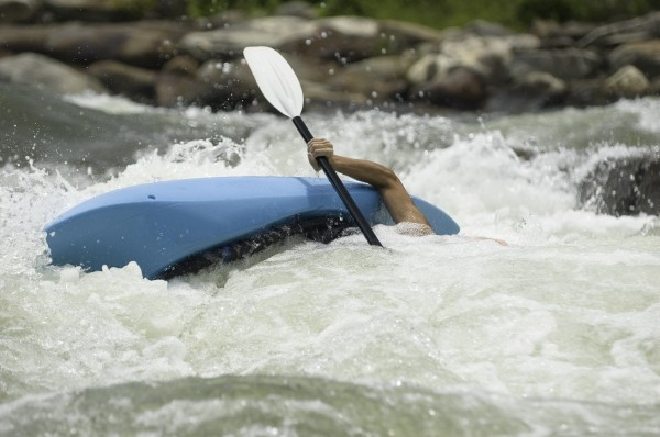 Beginner White Water Kayaking Course - White Water Training
